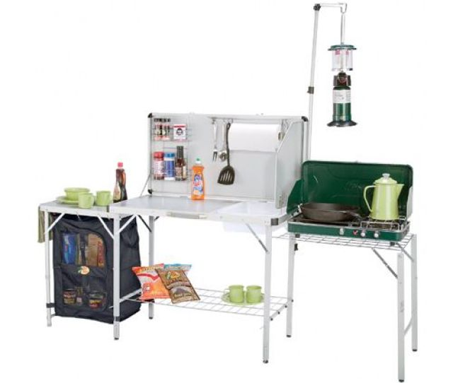 Best Camping Kitchens For  Top Rated Portable Grill Tables And Cooking Stations