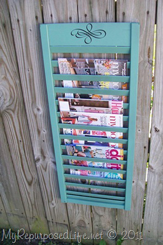 11 clever diy magazine storage ideas