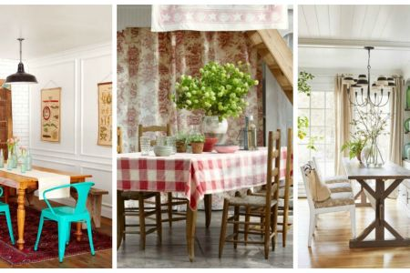 85 Best Dining Room Decorating Ideas   Country Dining Room Decor From floral themes to vintage furniture  our dining room design guide will  help you transform your dining space in no time  Plus  makeover your  kitchen