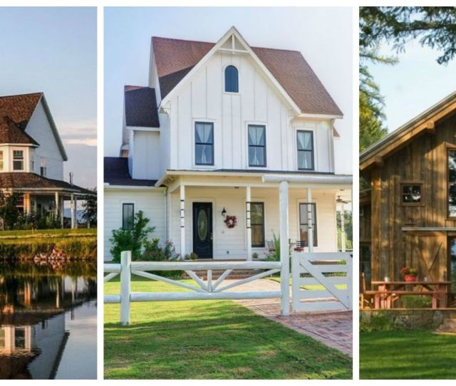 These Houses Are The Epitome Of Country Living