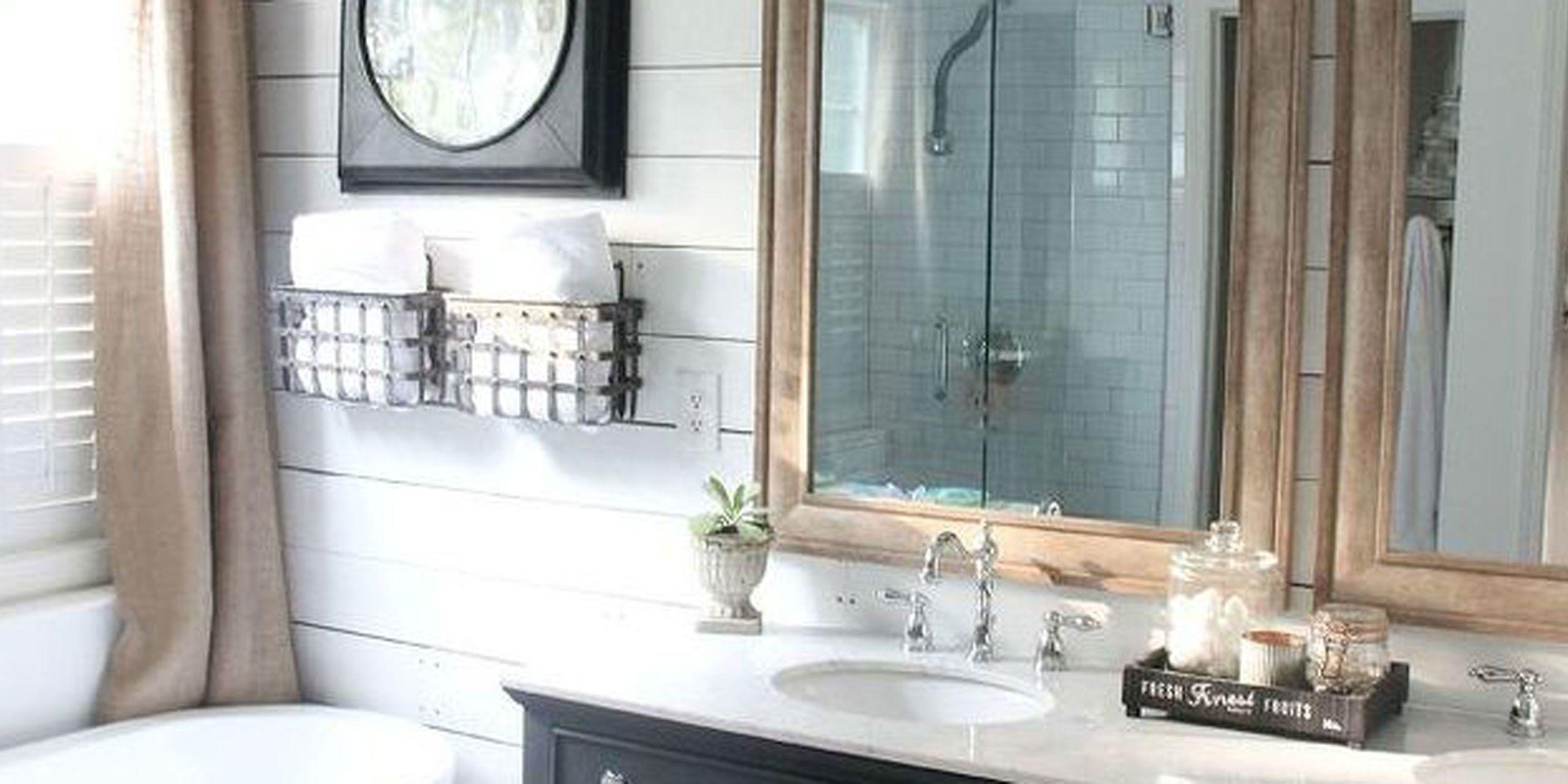 Farmhouse Bathroom Makeover