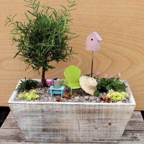 Fairy Garden Ideas: Summer Escape
