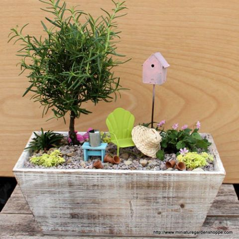 Fairy Garden Ideas: Summer Escape