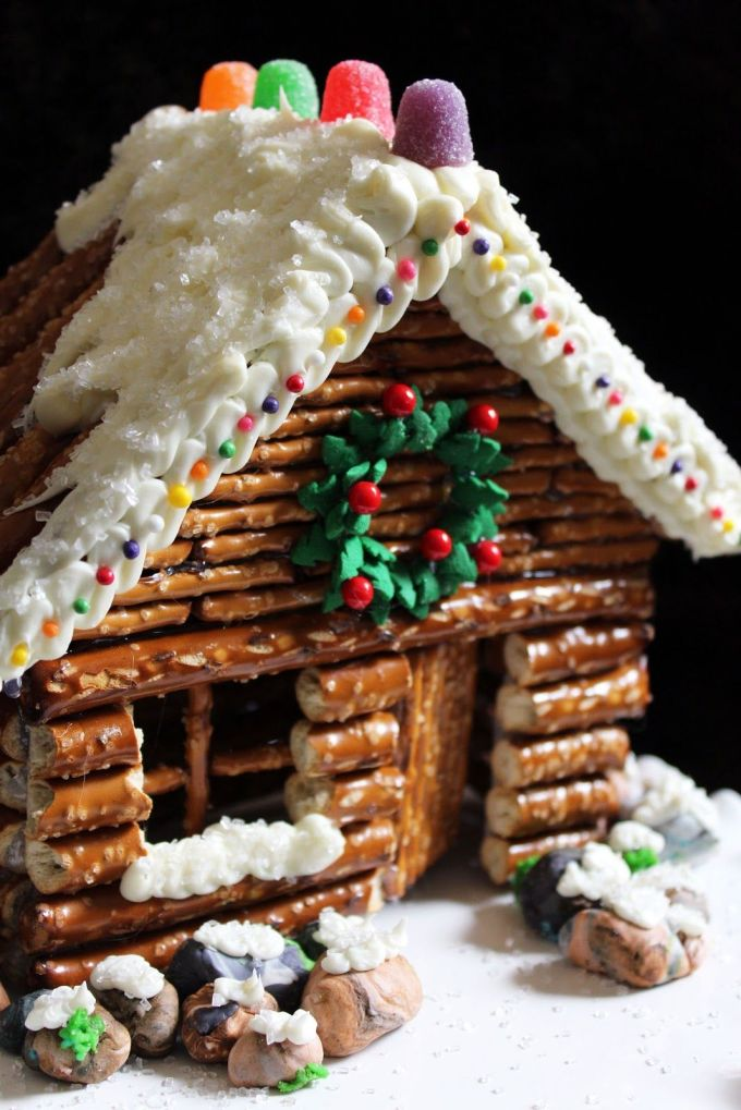 Image result for gingerbread house creative easy