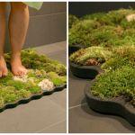 Moss Bath Mat Adds Nature To Your Bathroom How To Make Diy Moss Bath Mat