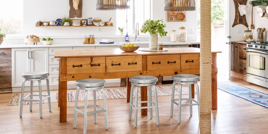 50  Best Kitchen Island Ideas   Stylish Designs for Kitchen Islands Add storage  style  and extra seating with a standalone kitchen island