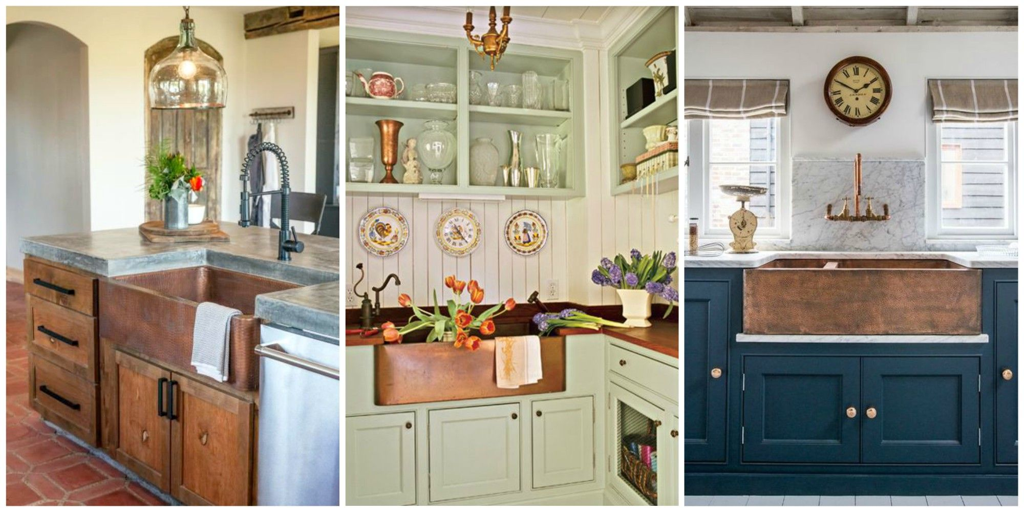 A Copper Farmhouse Sink Is The Statement Piece Your Kitchen Needs