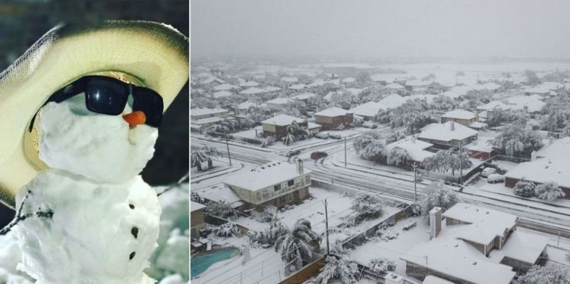 18 Incredible Photos from the Texas Snowstorm 1