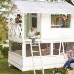 Diy Backyard Treehouse Ideas The Handmade Home Playhouse Photos