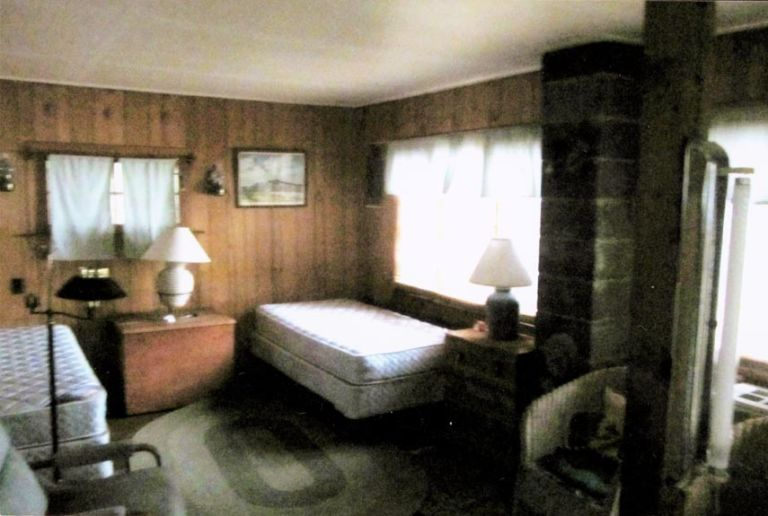 Lake House Decorating Ideas   New Hampshire Cabin Decorating bedroom makeover before