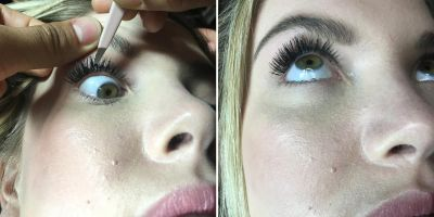 Image result for fixing false lashes