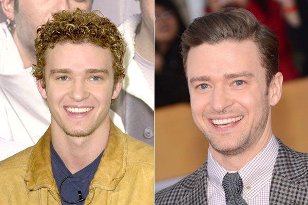 Justin Timberlake Straightened His Hair Male Hair