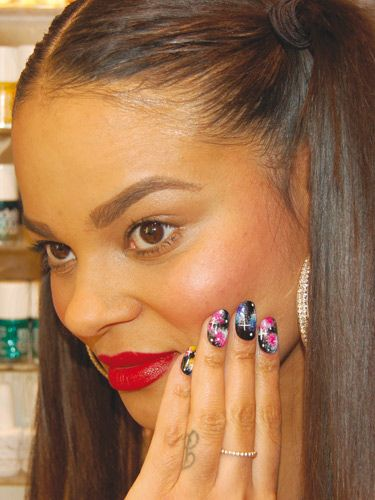 To Celebrate The Launch Of Wah Nails Book Downtown S We Have Some Special Step By Nail Art Extracts Share