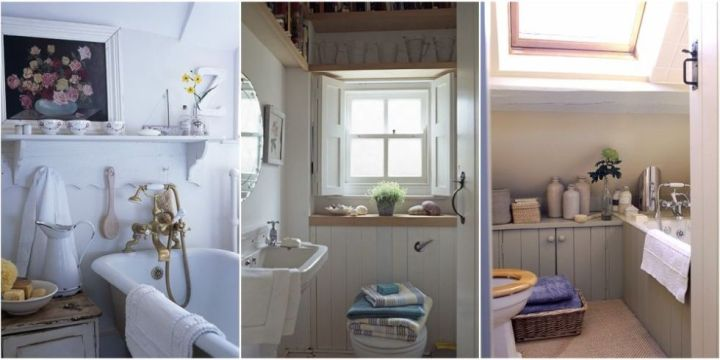 Small bathroom decorating ideas   Small spaces No matter how diminutive  these small bathroom decorating ideas will ensure  your WC is as stylish as any other room of the house
