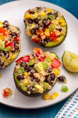 Quinoa-Stuffed Avocados