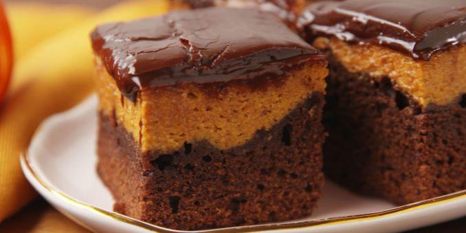 Best Pumpkin Pie Brownie Recipe - How to Make Pumpkin Pie