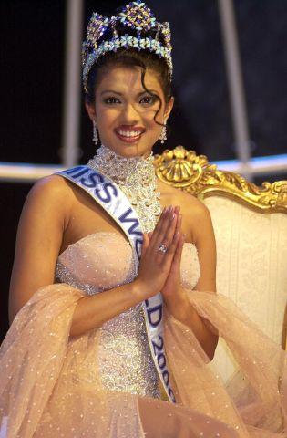 Priyanka: Miss World swimsuit round International Pageants