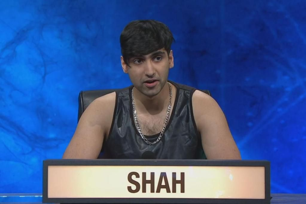 A Guy Wore A Vest On University Challenge