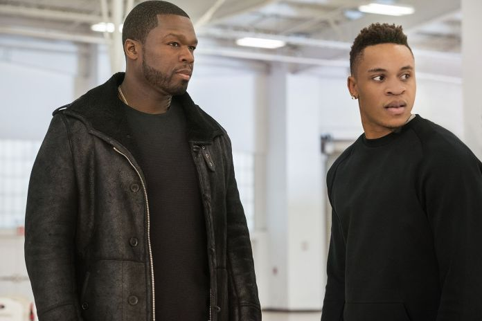50 Cent as Kanan, Rotimi Akinosho as Dre, Power, Season 3