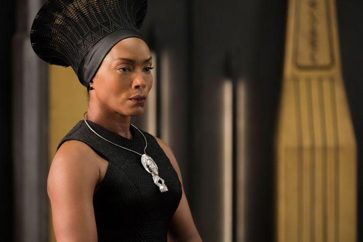 Angela Bassett as Ramonda, Black Panther