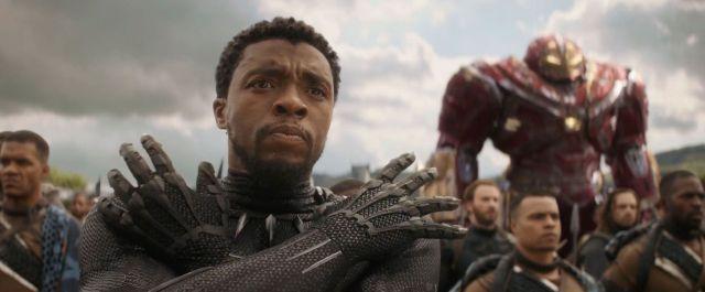 Black Panther, Chadwick Boseman, The Hulk, Captain America, Avengers Infinity War trailer