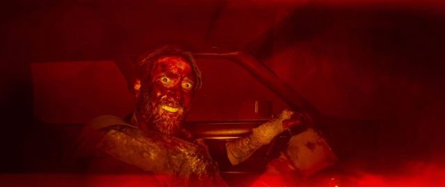 Nicolas Cage's Mandy explained - from the Black Skulls to The Chemist