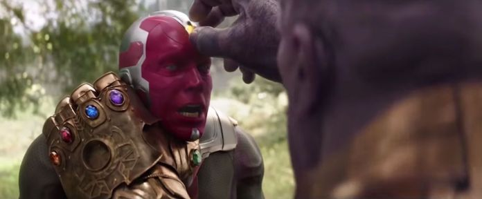 avengers infinity war, vision, paul bettany