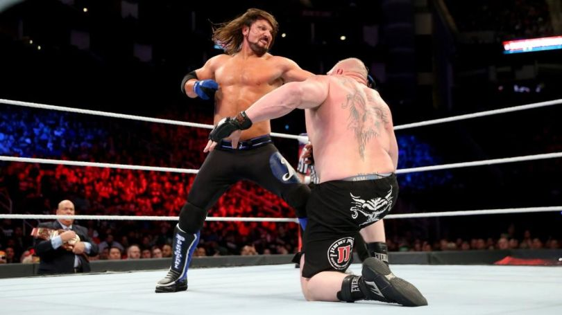 WWE Survivor Series 2018: AJ Styles vs Brock Lesnar