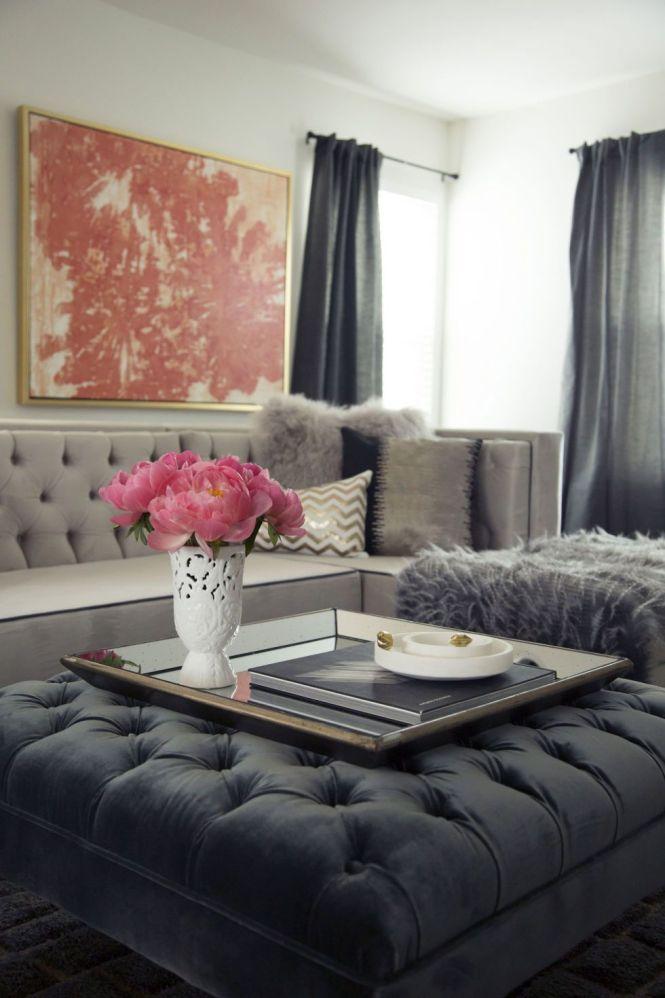 Martyn Lawrence Bullard Elle Decor Christmas Living Room Decorations Interior Pics