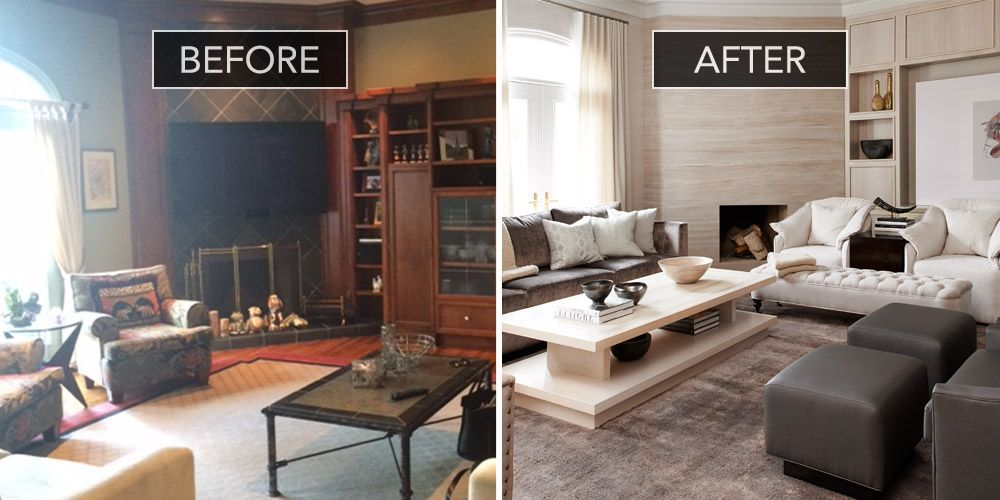 Family Room Before And After Design Ideas Part 35