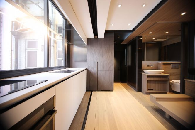 A Tiny Apartment S Jaw Dropping Micro Interior Design