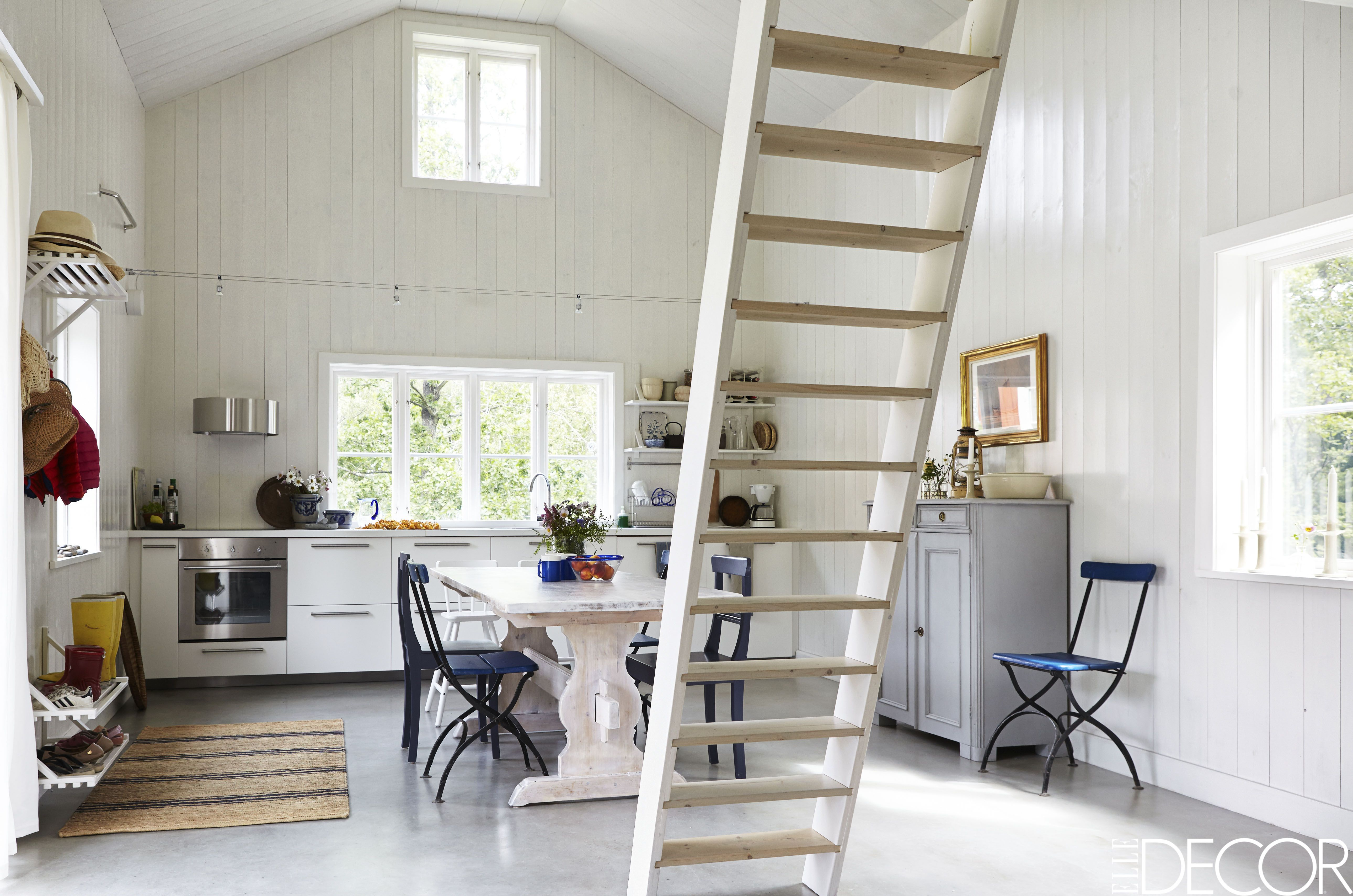 Best Kitchen Gallery: Tour A Minimalist Cottage With Scandinavian Design Summer House In of Swedish Home Design  on rachelxblog.com