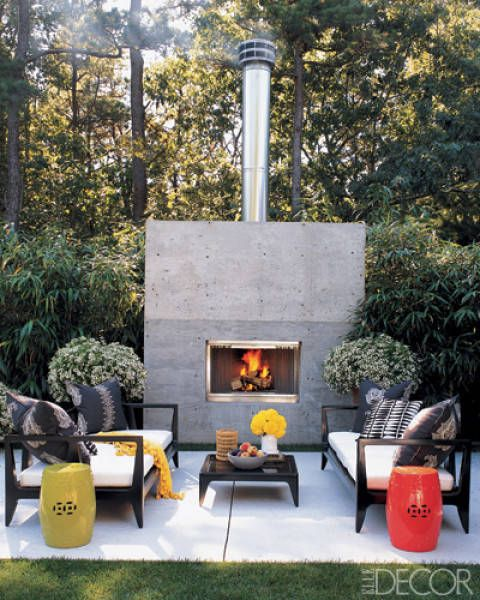 25 gorgeous outdoor fireplace ideas