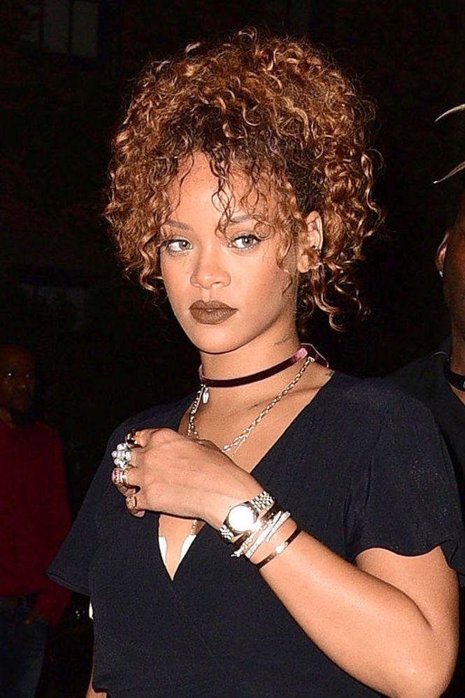 Rihanna mushroom haircut the best haircut of 2018 the backside of rihanna s short bob haircut mushroom cut winobraniefo Images