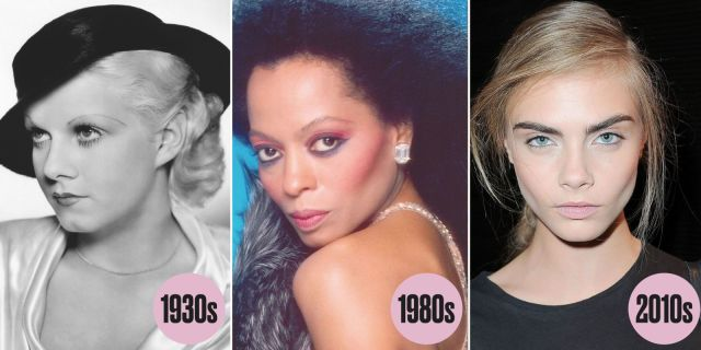 Eye Makeup Trends Of Every Decade