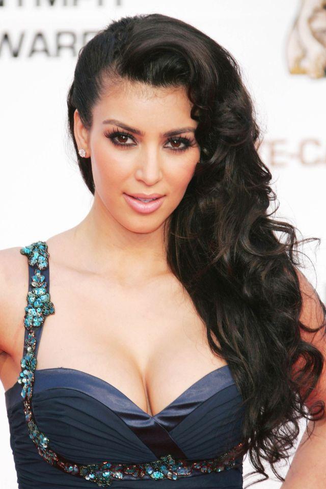 50 best kim kardashian hair looks - kim kardashian's