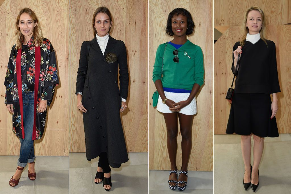 The Best Front Rows Of Paris Fashion Week Celebrities