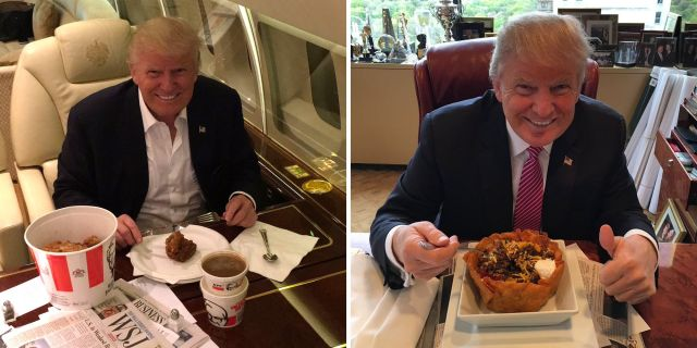 Why Does Donald Trump Eat So Much Fast Food?
