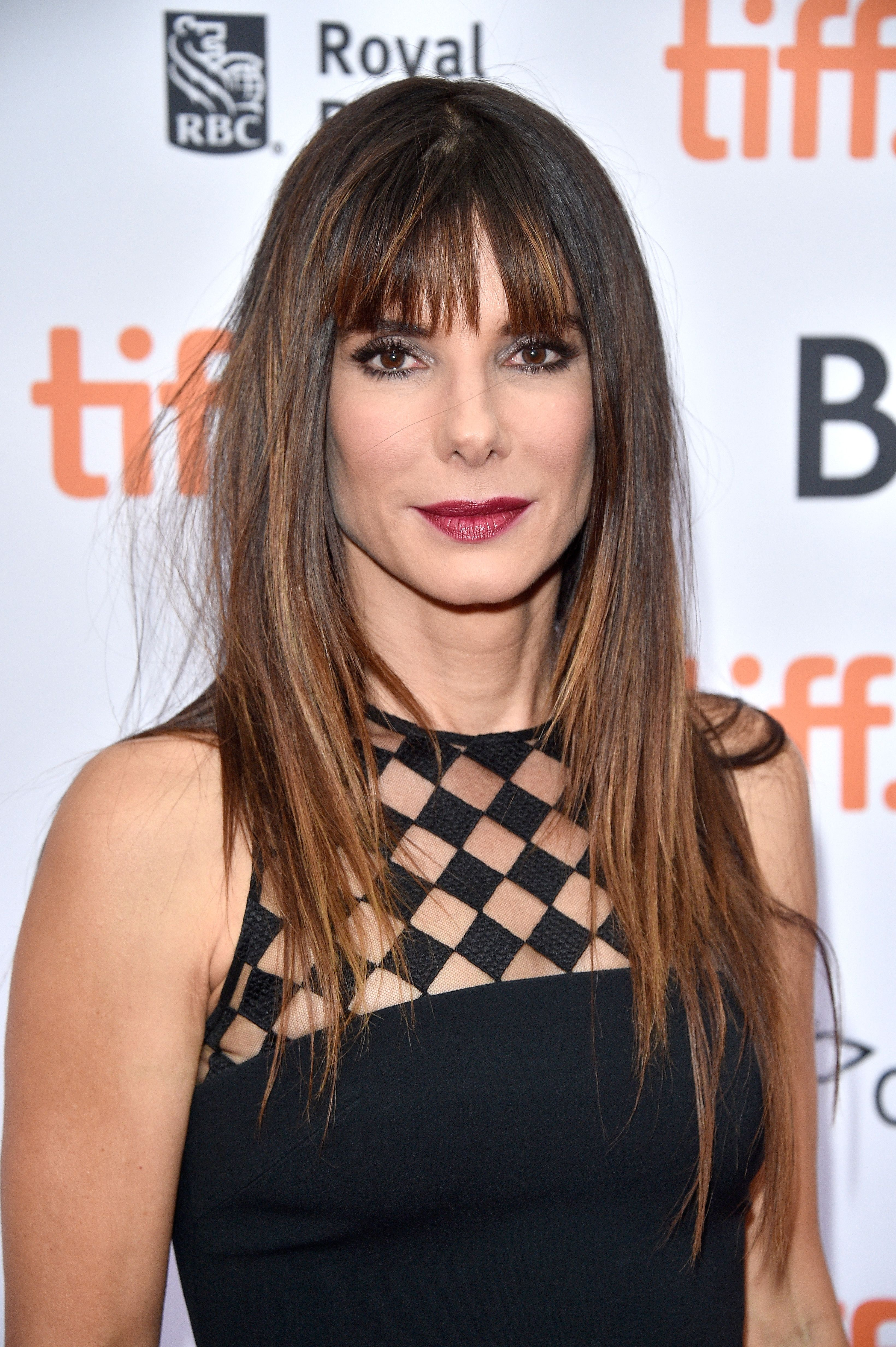 Long, Brown Hair Styles with Side Bangs:Caitlyn Taylor Love photo