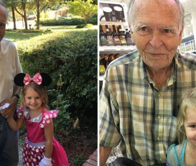 4 Year Old Befriends 82 Year Old Man