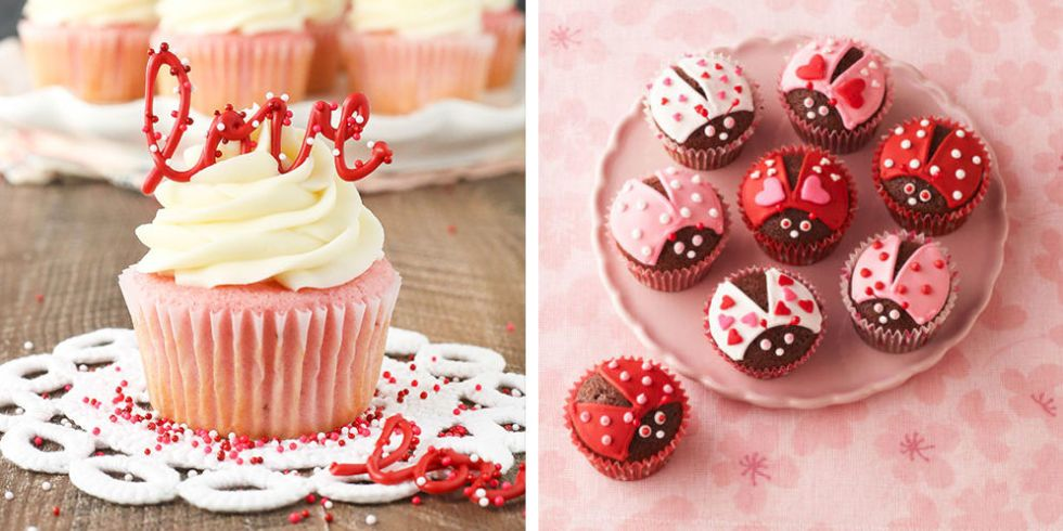 20 Cute Valentines Day Cupcakes Easy Cupcake Recipes To