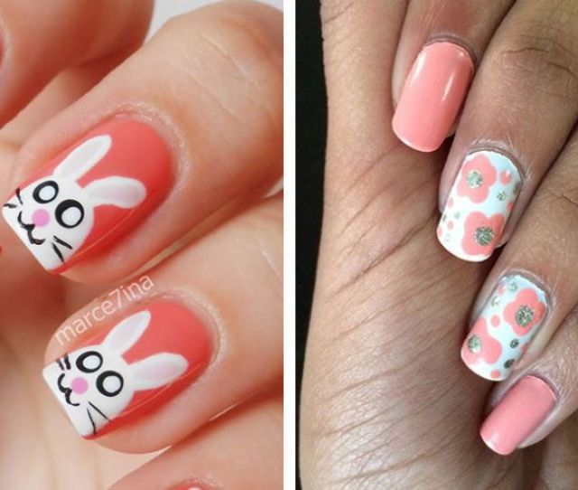 Easter Nail Art Ideas You Have To Try This Spring Easy Easter