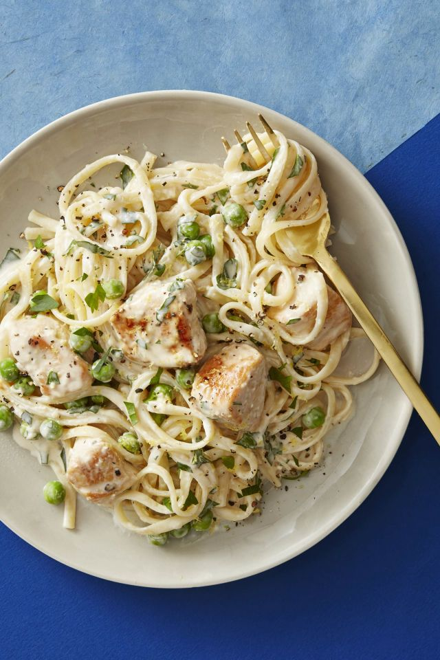 Creamy Lemon Chicken Pasta - Healthy Lunch Ideas
