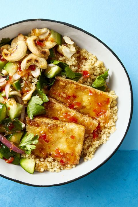 1518453847 crispy tofu bowl danielle occhiogross crispy tofu bowl 0817 - Healthy Things to Eat for Lunch -19 Healthy Lunch Ideas for You