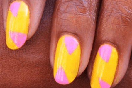 White And Yellow Ombre Nails Full Hd Maps Locations Another