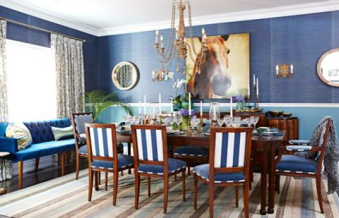 Casual Formal Dining Room   Dining Room Decorating Ideas image