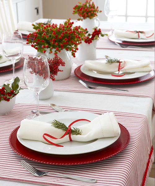 50 Diy Christmas Table Settings And Decorations Centerpieces Ideas For Your Christmas Table
