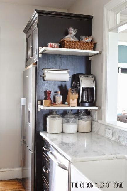 13 organization tips that keep countertops clear - kitchen counter