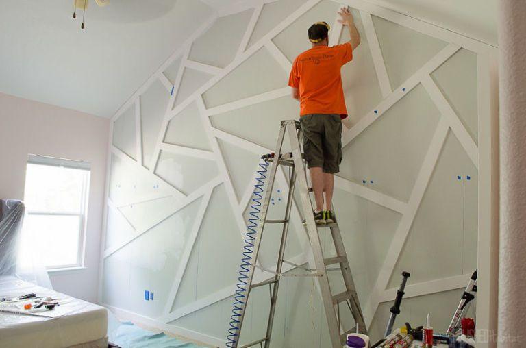One Room Challenge Statement Walls How To DIY
