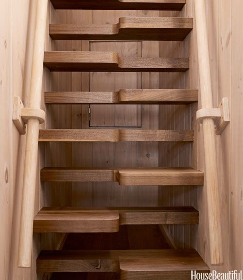25 Unique Stair Designs Beautiful Stair Ideas For Your House | Clever Stairs For Small Spaces | Staircase | Upstairs Small Space | Front Window | Small Area | Mini